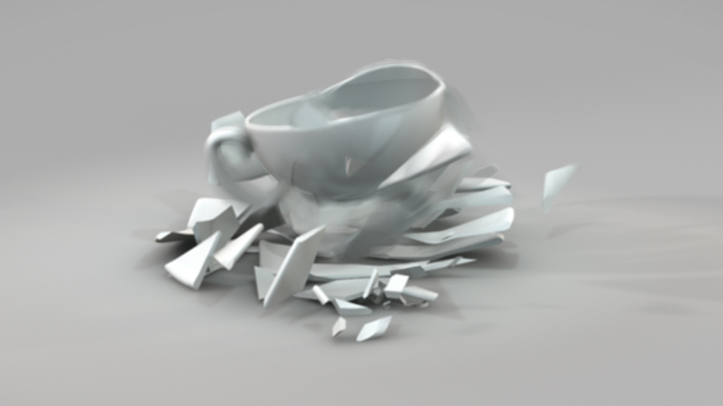 Pick up the pieces - 3d animation still image