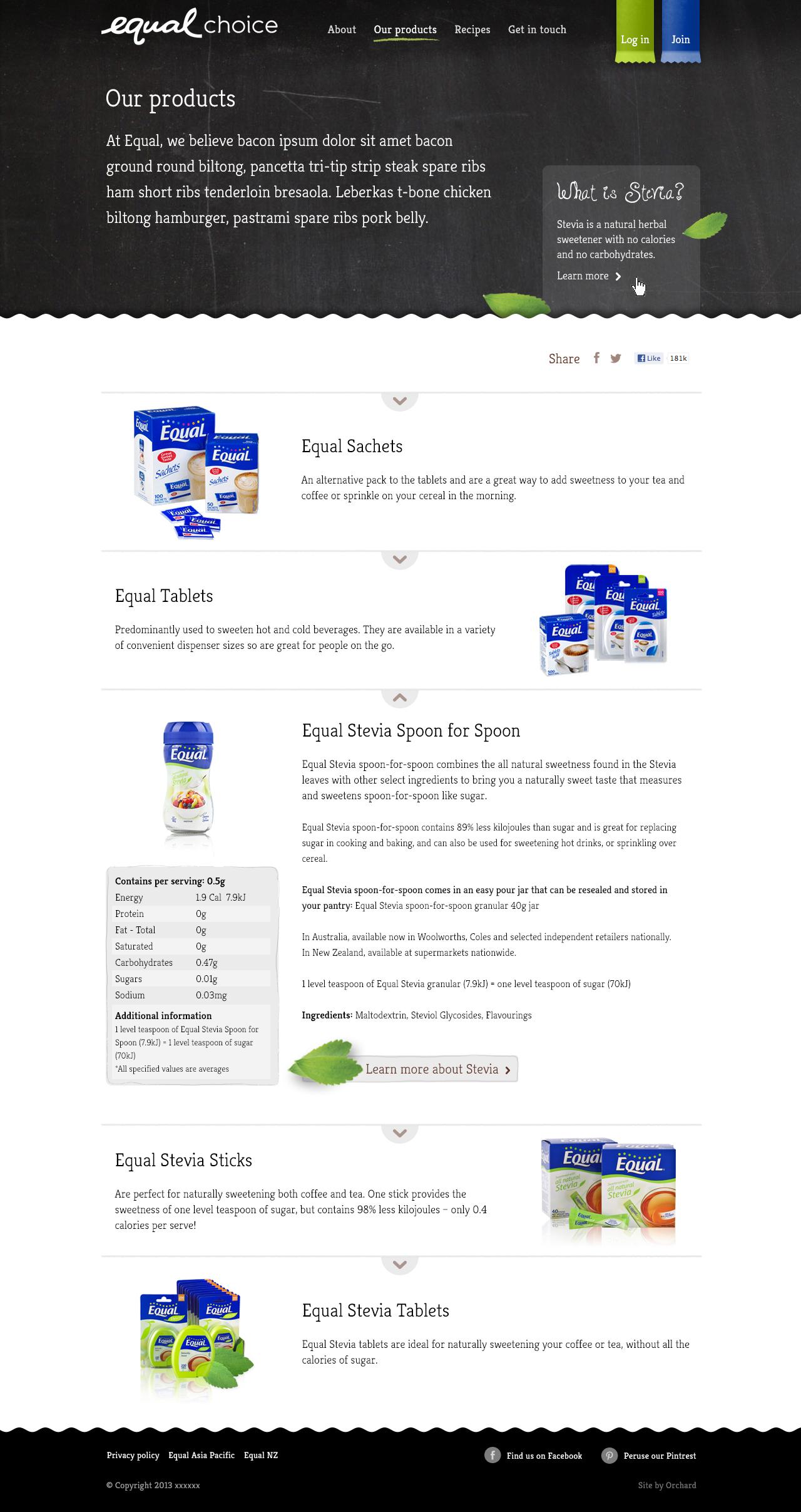 Steve Santer - Equal Choice website for Equal