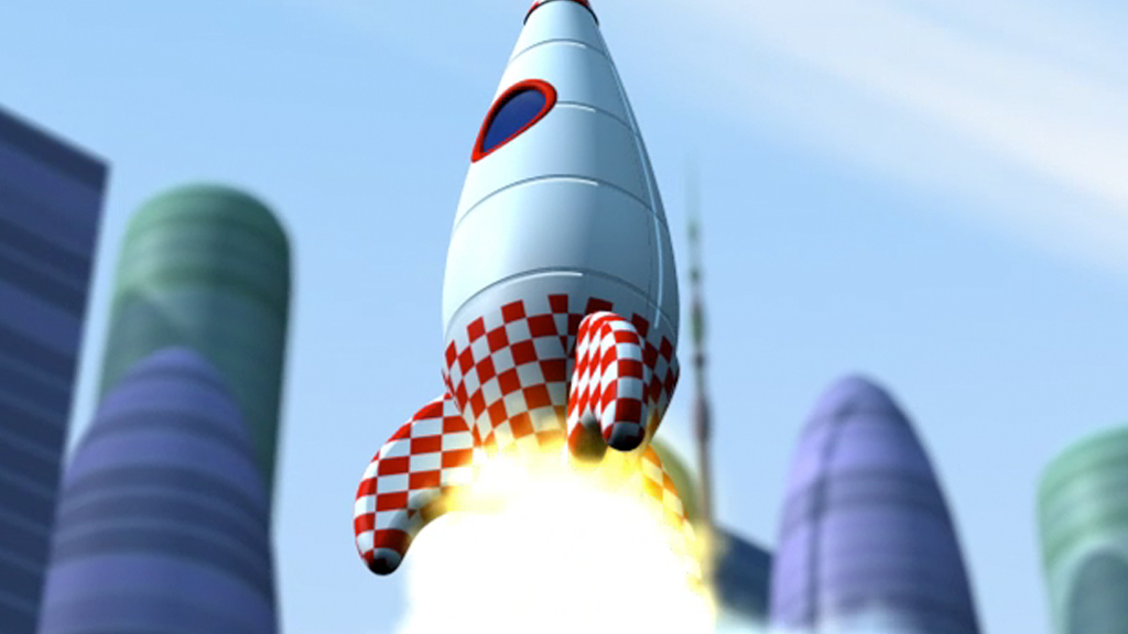 little scholars maths rocket mobile app game 3d animation