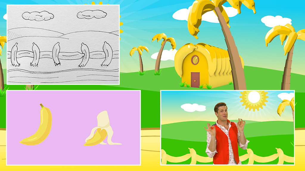 SplashDance---Love-Bananas---childrens-illustration