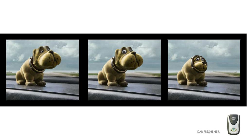 Ambi-Pur Air Freshener online advertising animation