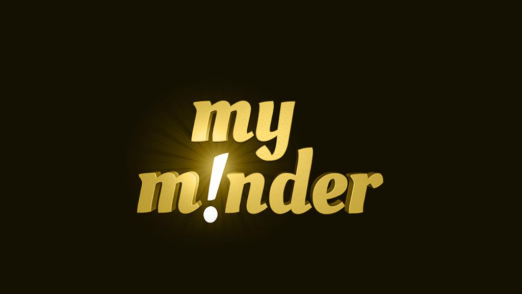 My Minder - Mobile application branding - 3D Illustration